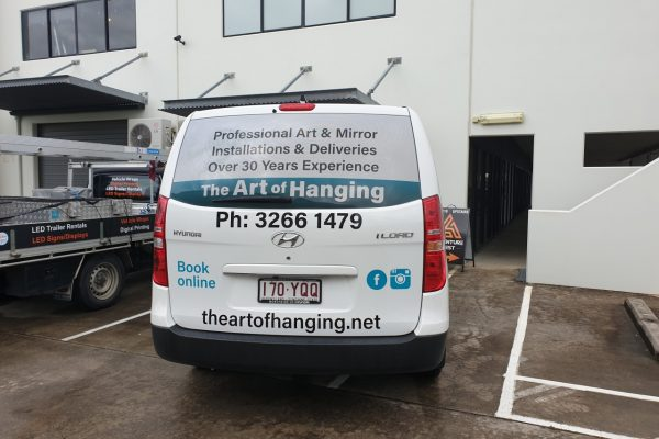 The Art of Hanging Van Signage-Back